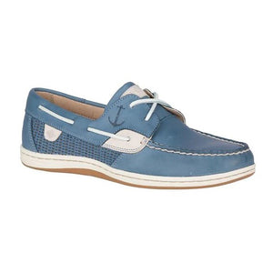 Sperry Koifish Slate Blue Mesh Boat Shoe - Women