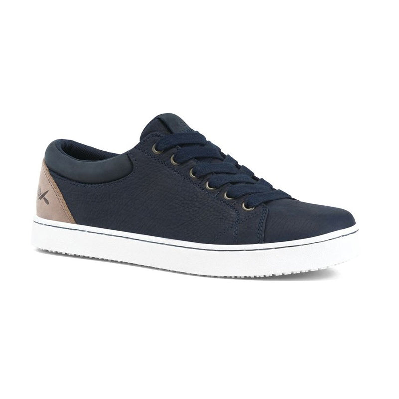 MOZO Finn Work Shoe - Men, Navy