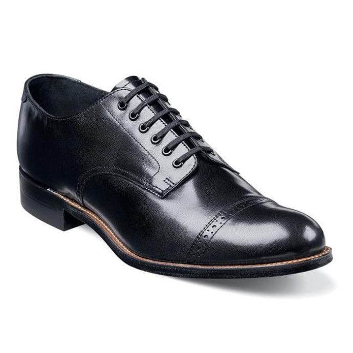 Madison Cap Toe Oxford, Black