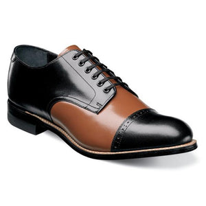 Madison Cap Toe Oxford-Black Multi