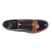 Load image into Gallery viewer, Madison Cap Toe Oxford-Black Multi