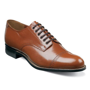 Madison Cap Toe Oxford-Oak