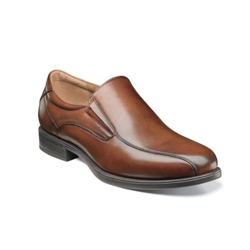 Florsheim Midtown Bike Toe Slip On, Cognac