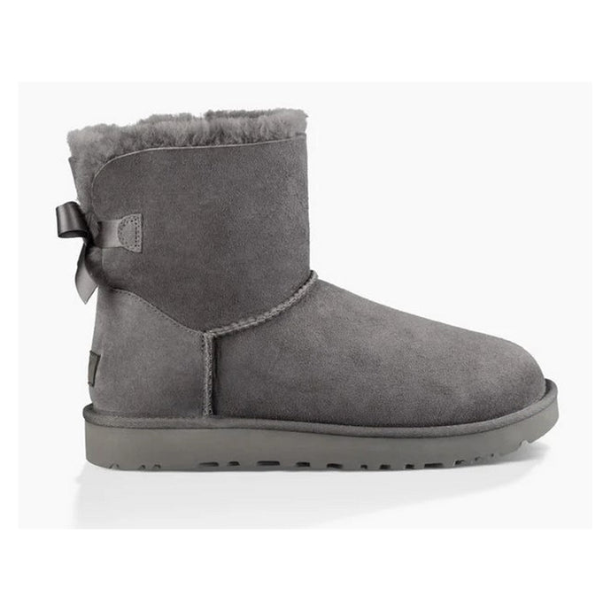UGG Mini Bailey Bow II Boot - Women, Grey
