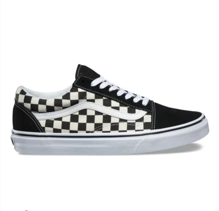 Vans Checkered Old Skool Sneakers Black