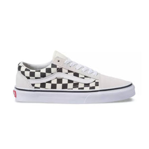 Vans Checkered Old Skool Sneakers White