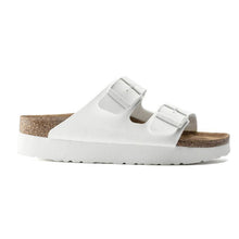 Load image into Gallery viewer, Papillio Arizona Vegan Platform Sandal in White