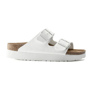 Papillio Arizona Vegan Platform Sandal in White