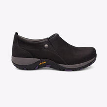 Load image into Gallery viewer, Dansko Patti Milled Nubuck Work Shoe - Women, Black