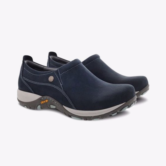 Dansko Patti Milled Nubuck Work Shoe - Women, Navy