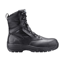"Load image into Gallery viewer, Timberland Pro Valor Duty 8"" Side Zip Comp Toe Boots - Men, Black"
