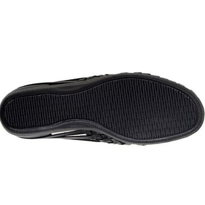 Softspots Trinidad Huarache Flats in Black