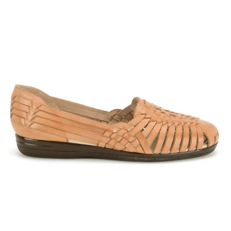 Softspots Trinidad Huarache Flats in Natural