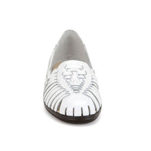 Load image into Gallery viewer, Softspots Trinidad Huarache Flats in White