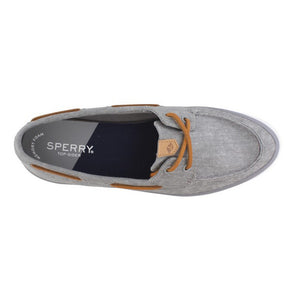 Sperry Grey Sailor Boat Shoe - Women