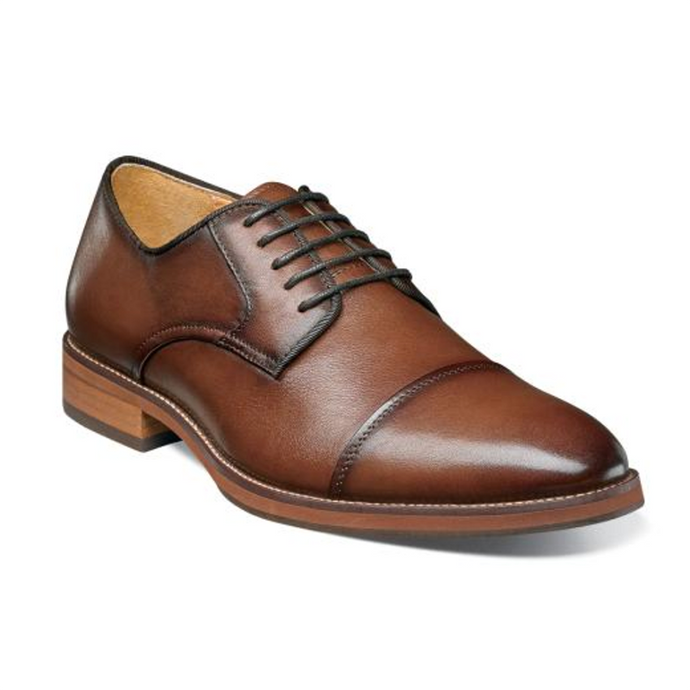 Florsheim Blaze Cap Toe Oxford Dress Shoe - Men, Cognac