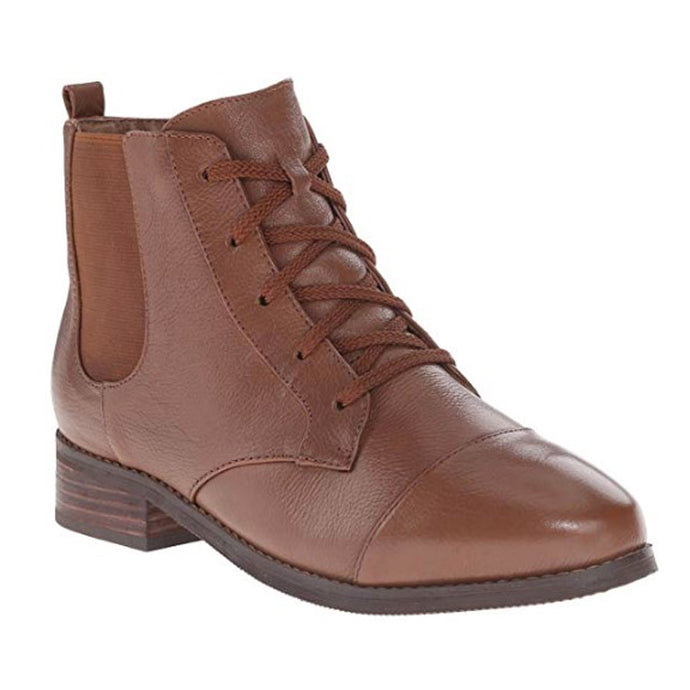 SoftWalk Miller Casual Leather Boot - Women