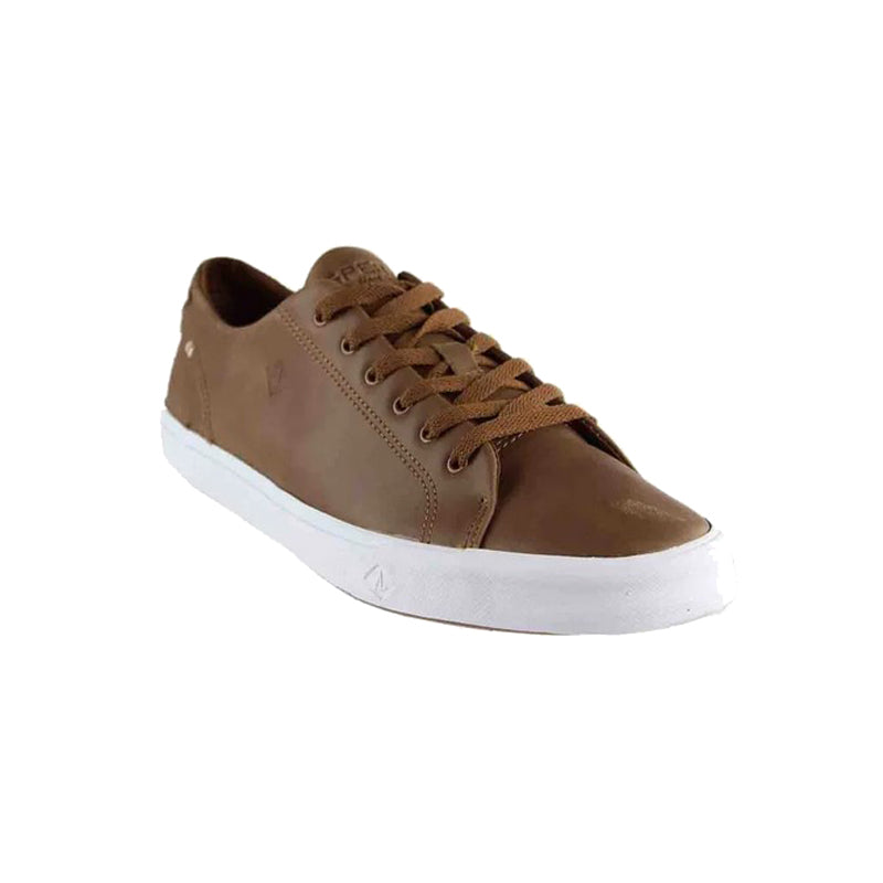 Sperry Striper II Leather Lace-Up Shoe, Tan - Men