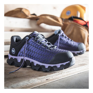 Timberland Pro Powertrain Sport Alloy Toe SD+ Work Shoe - Women, Purple