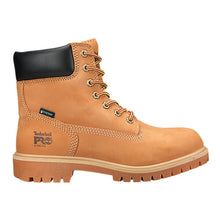 "Load image into Gallery viewer, Timberland Pro Direct Attach 6"" Steel Toe Boots - Women, Wheat Nubuck"