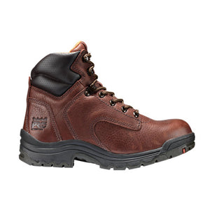 "Pro Titan 6"" Soft Toe Work Boots - Women, Coffee"