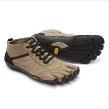 Load image into Gallery viewer, Vibram Five Fingers V-Trek - Men's, Khaki-Black