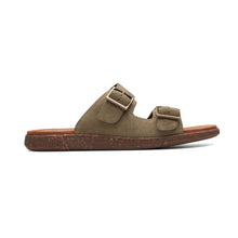 Load image into Gallery viewer, Vine Cedar Sandals - Men, Olive