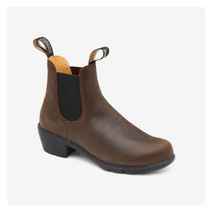 Bundstone Heeled Boots - Women's, Antique Brown