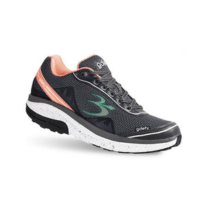 Gravity Defyer G-Defy Mighty Walk Athletic Shoes, Gray-Pink - Women's