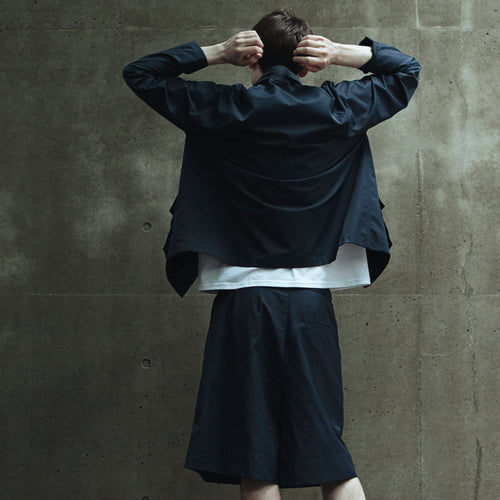 【INSTANT DELIVERY】otii original NGO setup shorts MENS -  navy