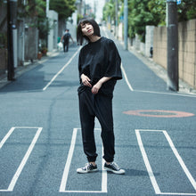 画像をギャラリービューアに読み込む, 【PRE ORDER】otii original OSK tuck rib pants WOMENS - black