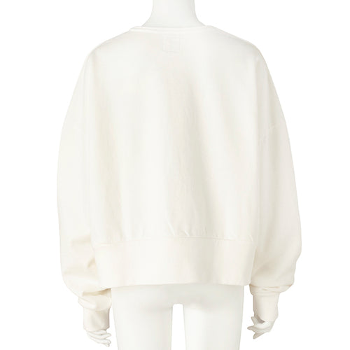 otii original v neck sweat - off white