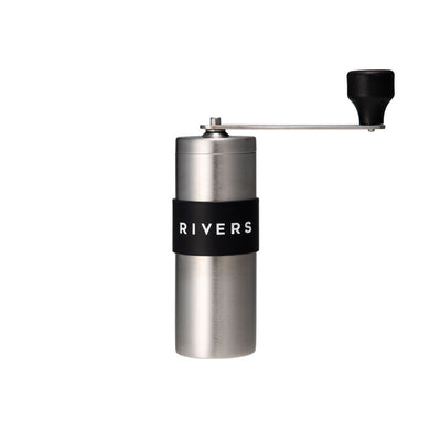 coffee grinder grid silver