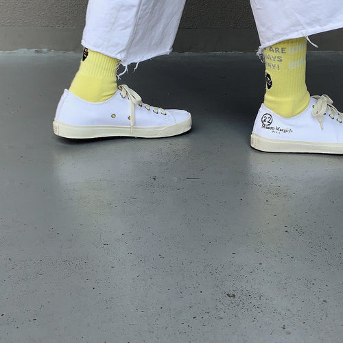 otii × chi-bee HORNY socks - lemon