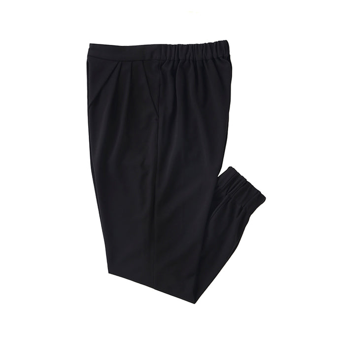 【PRE ORDER】otii original OSK tuck rib pants WOMENS - black