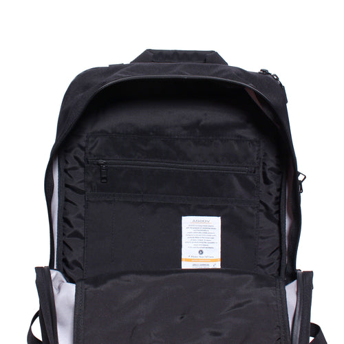water proof cordura 305d day pack black