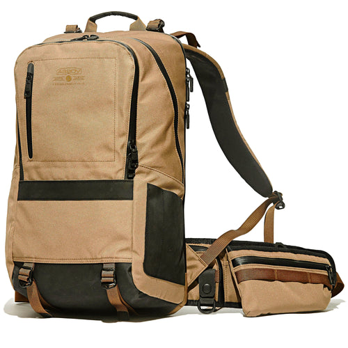 water proof cordura 305d day pack khaki