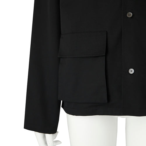 【INSTANT DELIVERY】otii original NGO setup jacket WOMENS -  black
