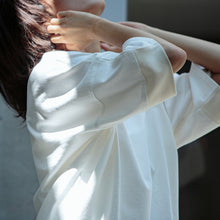 画像をギャラリービューアに読み込む, otii original FUK switch wide T-shirts - white / off white