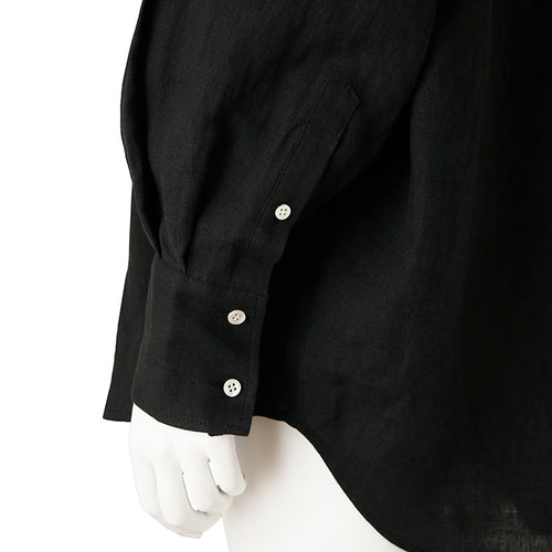 otii original OSK linen shirts - black