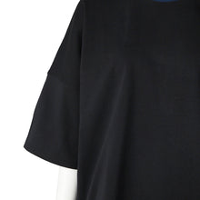 画像をギャラリービューアに読み込む, otii original FUK switch wide T-shirts - black / navy
