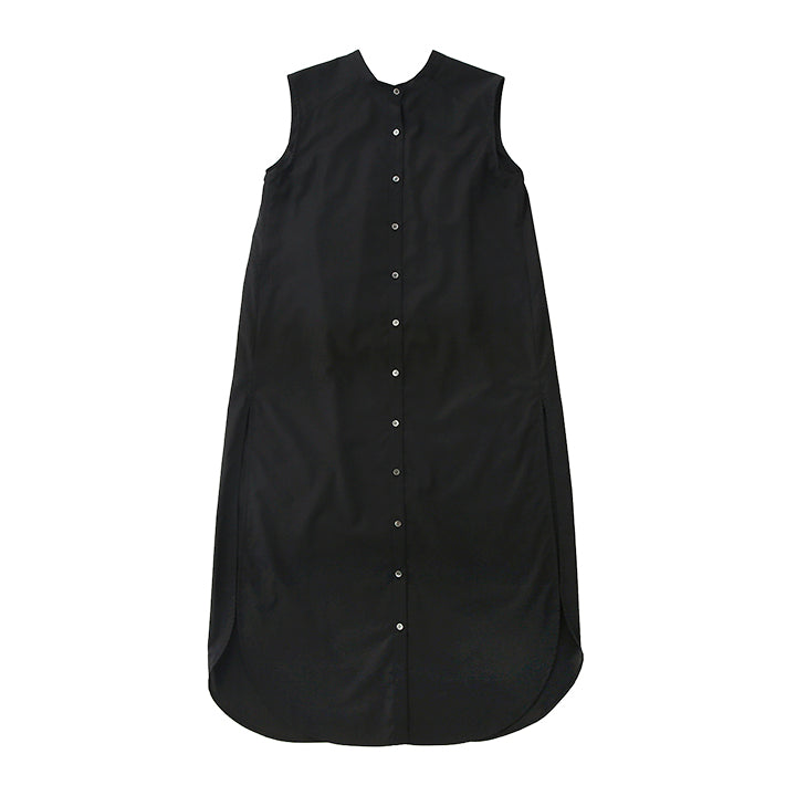 【PRE ORDER】otii original OSK nosleeve shirts dress - black