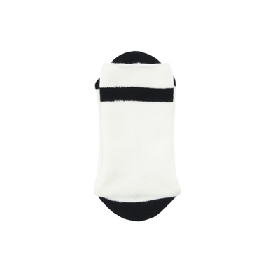 NGO pile line socks - white