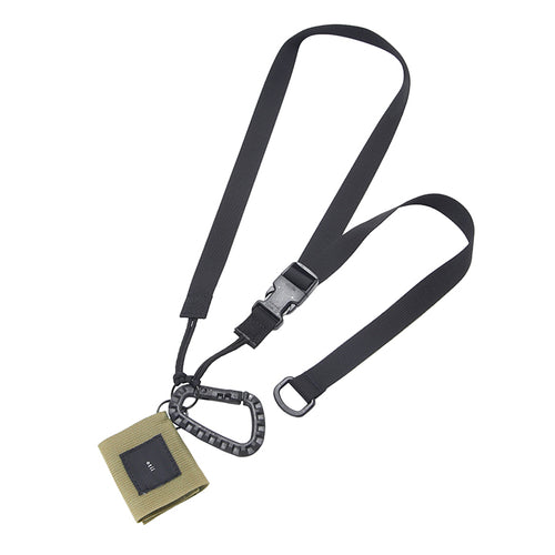 【PRE ORDER】otii × MIS tactical key strap set - black