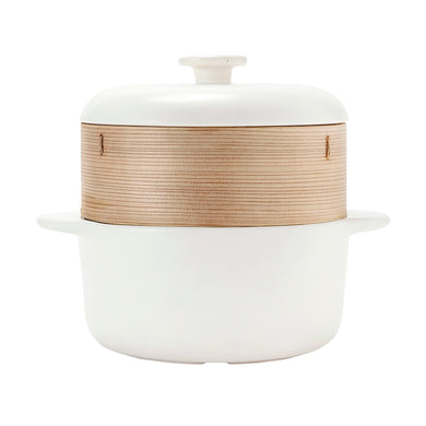jia steamerⅱ - white