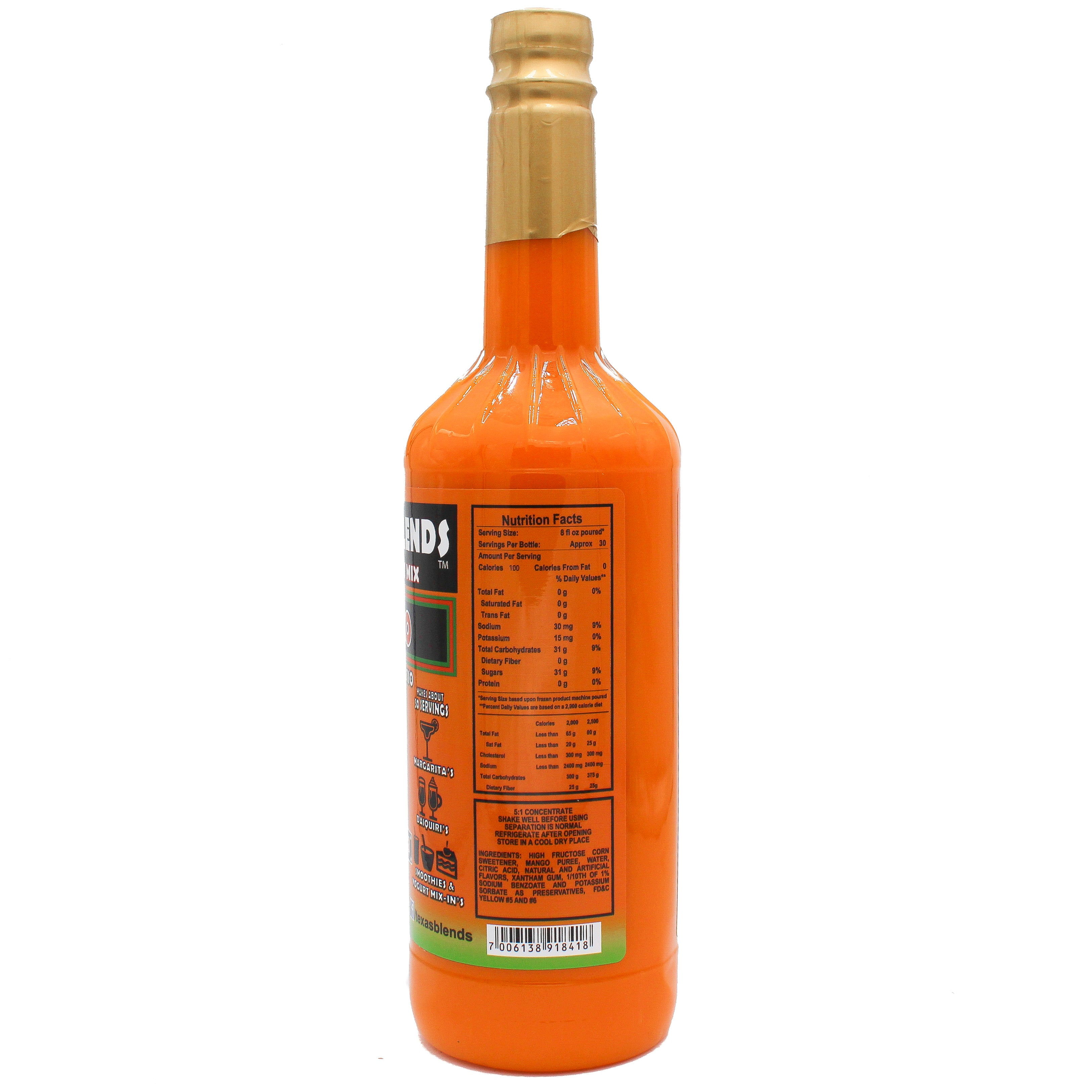 Mango - 1 Liter (33.8 Oz) - Texas Blends