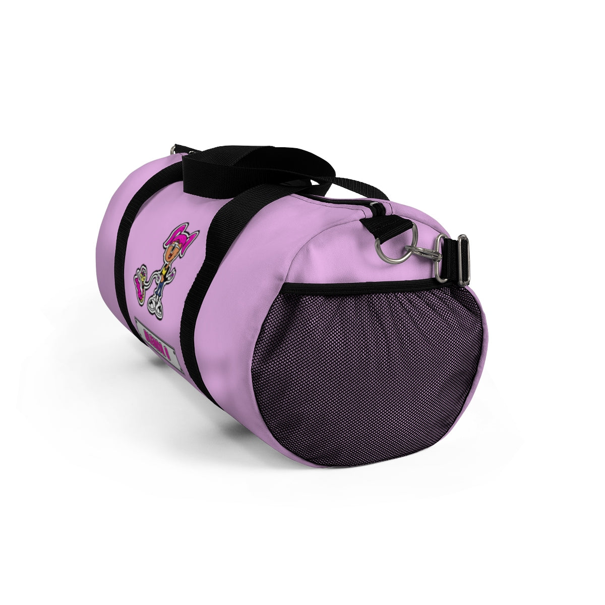 Blenda B  Light Pink Duffel Bag - Texas Blends