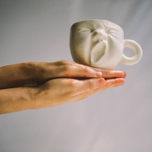 The laughing cup (Handmade Ceramic cup)