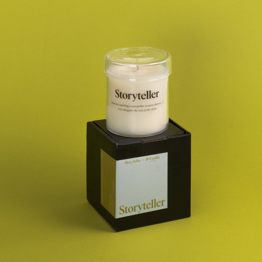StoryTeller x Becandle | Scented Candle