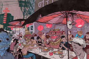 [Open Edition] Bangkok Street Food by Mateusz Kolek
